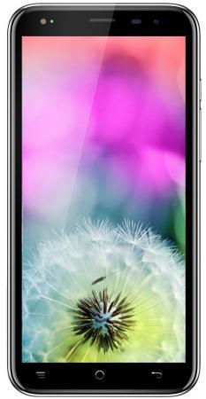 Смартфон Texet TM-5077 черный 5 16 Гб LTE Wi-Fi GPS 3G Bluetooth 126723 gps навигатор texet tn