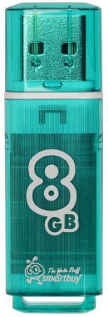 Фото - Флешка 8Gb Smart Buy Glossy USB 2.0 зеленый SB8GBGS-G флешка apacer ah333 8gb 8 гб белый