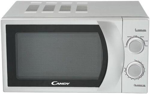 Микроволновая печь Candy CMW2070S 700 Вт серебристый микроволновая печь lg mh6044v 800 вт серебристый