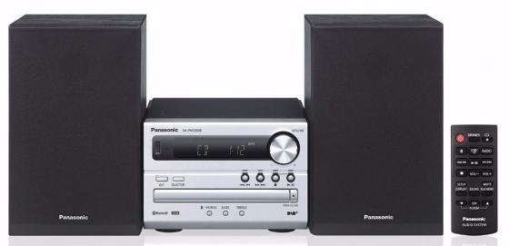 Микросистема Panasonic SC-PM250EE-S серебристый 20Вт/CD/CDRW/FM/USB/BT panasonic sc pm250ee s