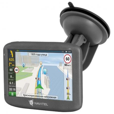 Навигатор Автомобильный GPS Navitel E505 Magnetic 5 800x480 8Gb microSDHC черный Navitel как обмануть gps навигатор