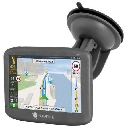 Навигатор Автомобильный GPS Navitel E505 Magnetic 5 800x480 8Gb microSDHC черный Navitel gps навигатор википедия