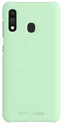 Чехол (клип-кейс) Samsung для Samsung Galaxy A30 WITS Premium Hard Case мятный (GP-FPA305WSBMW) чехол клип кейс samsung для samsung galaxy a70 wits premium hard case черный gp fpa705wsabw