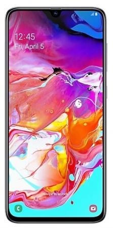 Смартфон Samsung Galaxy A70 белый 6.7 128 Гб NFC LTE Wi-Fi GPS 3G Bluetooth SM-A705FZWMSER смартфон samsung galaxy s8 sm g950f 64gb жёлтый топаз