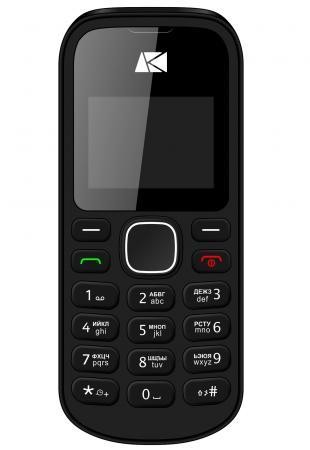 Мобильный телефон ARK Benefit U141 32Mb черный моноблок 2Sim 1.44 68x98 GSM900/1800 MP3 FM microSD смартфон ark benefit s504 черный моноблок 3g 2sim 5 480x854 and5 1 5mpix wifi bt gps