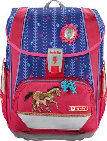 цены на Ранец Step By Step Light2 Horse Family розовый/голубой 4 предмета  в интернет-магазинах