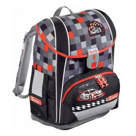 Ранец Step By Step Light Racer серый/черный/красный цена