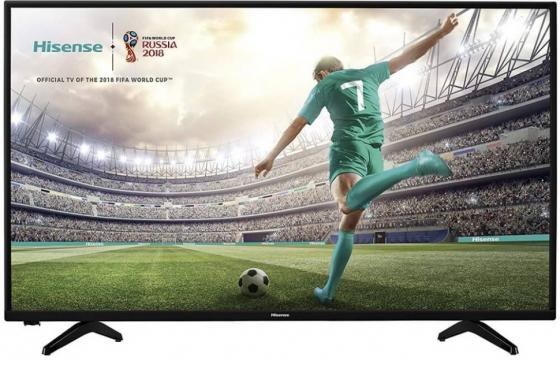 "Телевизор 43"" Hisense H43A5600 черный 1920x1080 50 Гц Wi-Fi Smart TV RJ-45 цена 2017"