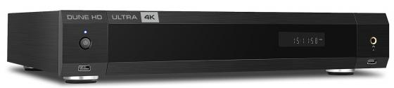 "лучшая цена Hi-Fi 4K Mediaplayer Dune HD Ultra 4K: UltraHD/60 Hz/3D/HDR/10 bit, CPU Realtek 1295, RAM 2 Gb, Flash 16 Gb, 3xUSB2.0, 1xUSB3.0, 1xUSB Type-C, HDD SATA 3.5"", Micro SD, LAN 1000Mb/s, WiFi 802.1ac, BT 4.2, HDMI 2.0a, ESS Sabre 9038 Pro, Headphone amp, HDMI Audio-Out, S/PDIF, RCA, HDMI In, Remote Control IR+BT, Android 7.1"