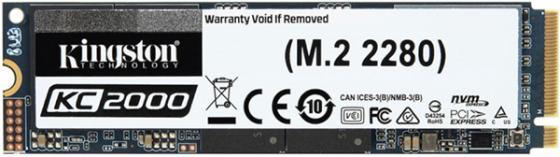 Купить Твердотельный накопитель SSD M.2 500 Gb Kingston SKC2000M8/500G Read 3000Mb/s Write 2000Mb/s 3D NAND TLC