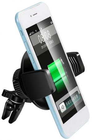 WUC-5217 АВТОМОБИЛЬНЫЙ ДЕРЖАТЕЛЬ С ФУНКЦИЕЙ БЕСПРОВОДНОЙ ЗАРЯДКИ DUBLLIK автомобильный держатель с функцией беспроводной зарядки shun zao electric wireless car charger