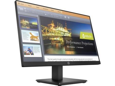 "Монитор 22"" HP ProDisplay P224 черный VA 1920x1080 250 cd/m^2 5 ms HDMI VGA DisplayPort hp prodisplay p202"