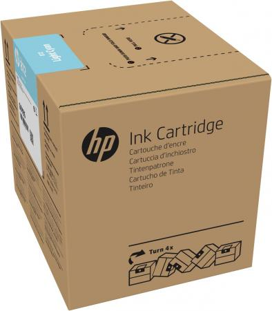 Фото - HP 872 3L Lt Cyan Latex Ink Crtg hp 872 3l overcoat latex ink crtg