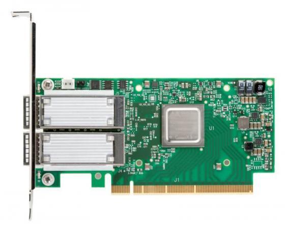 ConnectX-5 VPI adapter card, EDR IB (100Gb/s) and 100GbE, dual-port QSFP28, PCIe3.0 x16, tall bracket