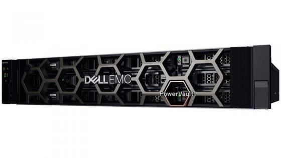 Dell EMC ME4024, Dual Controller SAS 8-ports, (2)*HD-Mini - HD-Mini SAS cable 2m, (2)*2TB NLSAS 7.2k (up to 24x2.5), RPS, Bezel, Rails, 3Y ProSupport NBD