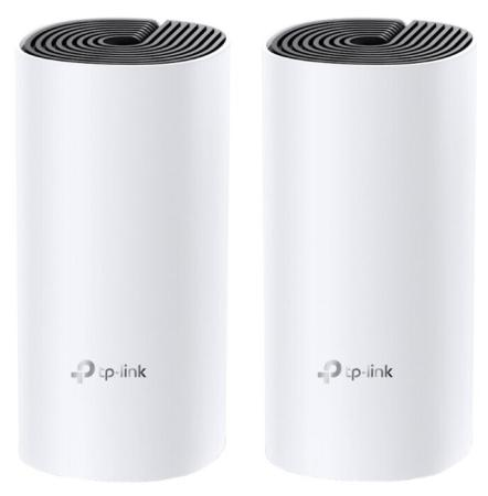 AC1200 Whole-Home Mesh Wi-Fi System, Qualcomm CPU, 867Mbps at 5GHz+300Mbps at 2.4GHz, 2 10/100Mbps Ports, 2  internal antennas, MU-MIMO dual band 2 4 5ghz 300mbps ieee 802 3u a n b g wireless ap wi fi repeater white au plug