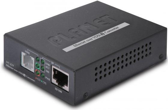 100/100 Mbps Ethernet to VDSL2 Converter - 30a profile