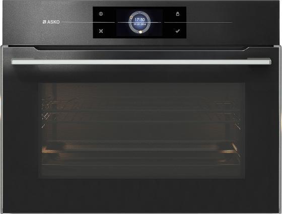 Встраиваемые электрические духовки ASKO/ 45.5x59.5x54.6 см, СВЧ, 50 л, 19 режимов, антрацит asko ocs8678g