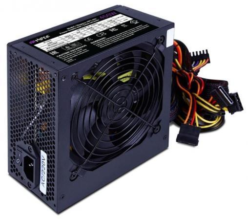Блок питания ATX 450 Вт HIPER HPT-450 цена и фото