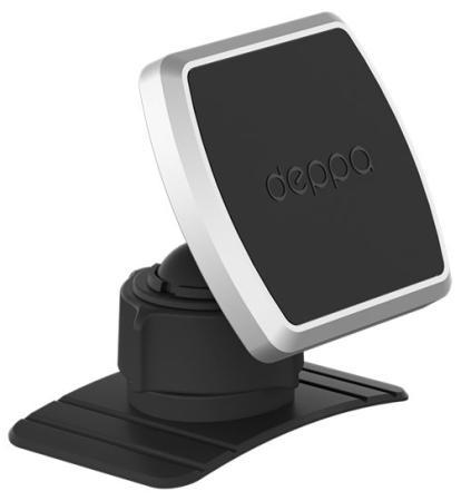 Автомобильный держатель Deppa Mage Mount для смартфонов, магнитный, крепление на приборную панель, черный deppa mage one black автомобильный держатель для смартфонов