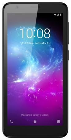 "Смартфон ZTE Blade A3 черный 5"" 16 Гб LTE Wi-Fi GPS 3G Bluetooth смартфон lenovo sisley s90 серый графитовый 5 32 гб lte wi fi gps 3g p0s3000nru"