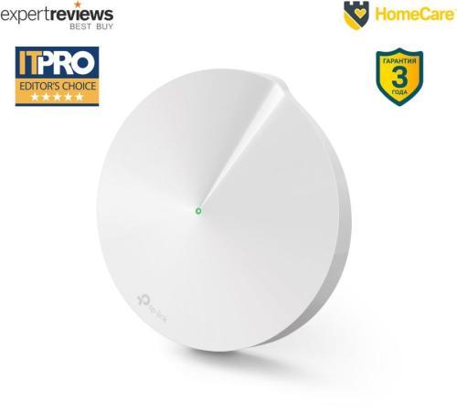 Фото - Роутер TP-LINK DECO M5(1-PACK) AC1300 Домашняя Mesh Wi-Fi система mesh wi fi система tp link deco m5 2 pack