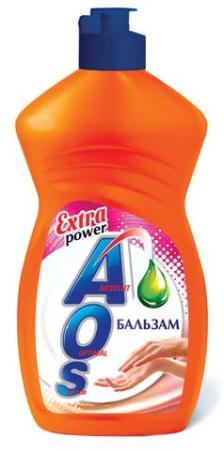 Средство для мытья посуды 450 мл, AOS Бальзам, 1110-3 aos u7146 green