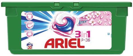 Стиральный порошок-автомат капсулы 30 шт. по 28,8 г, ARIEL (Ариэль) Ленор эффект, AG-81578065 цена