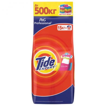 Стиральный порошок-автомат 15 кг, TIDE (Тайд) Color Expert tide автомат color 3 кг tide