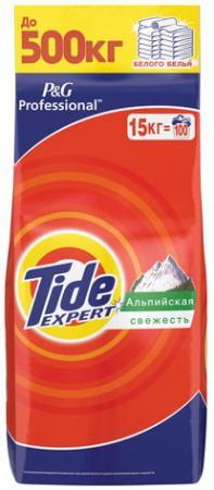 Стиральный порошок-автомат 15 кг, TIDE (Тайд) Expert, Альпийская свежесть тайд порошок стиральный автомат touch 2в1 tide
