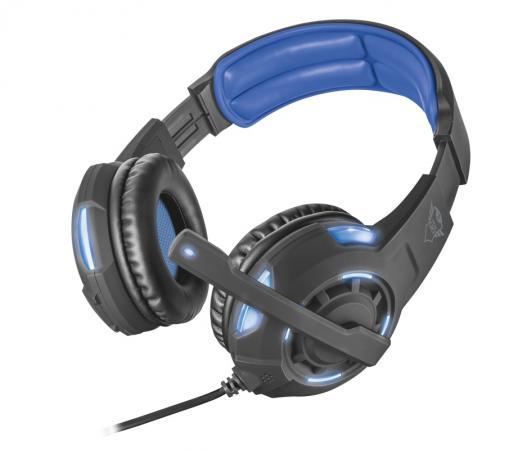 лучшая цена Игровая гарнитура проводная TRUST GXT 350 черный 22052