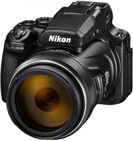Фото - Фотоаппарат Nikon Coolpix P1000 Black <16.8Mp, 125x zoom, 3,2, SDXC, WiFi/NFC. 4K, GPS/ГЛОНАСС/QZSS> фотоаппарат