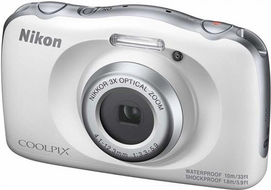 Фото - Фотоаппарат Nikon Coolpix W150 White Backpack KIT <13.2Mp, 3x zoom, 2.7, SDXC, Влагозащитная, Ударопрочная> (водонепроницаемый 10 метров) фотоаппарат