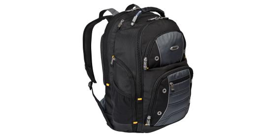 "Рюкзак для ноутбука 17"" DELL 460-BCKM нейлон черный серый цена и фото"