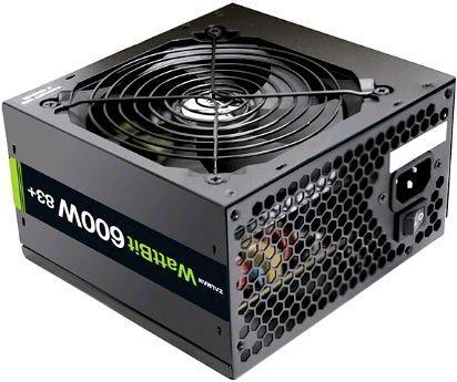 Блок питания ATX 600 Вт Zalman Wattbit 600W 83+ ZM600-WATTBIT (XE)