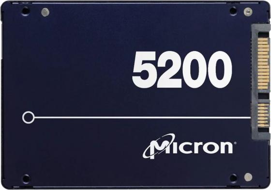 "Micron 5200MAX 480GB SATA 2.5"" TCG Disabled Enterprise Solid State Drive"