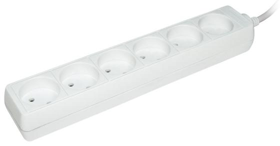 цена на Удлинитель IEK WYP10-16-06-03-Z-N 6 розеток 3 м