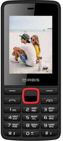 """Телефон Irbis SF19 черный красный 2.4"""" 32 Мб GPS Bluetooth телефон irbis sf17 черный красный"""