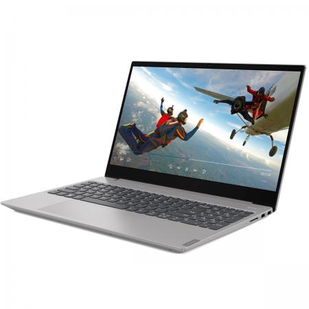 "Ультрабук Lenovo IdeaPad S340-15IWL Core i7 8565U/8Gb/SSD256Gb/Intel UHD Graphics 620/15.6""/IPS/FHD (1920x1080)/Free DOS/grey/WiFi/BT/Cam"