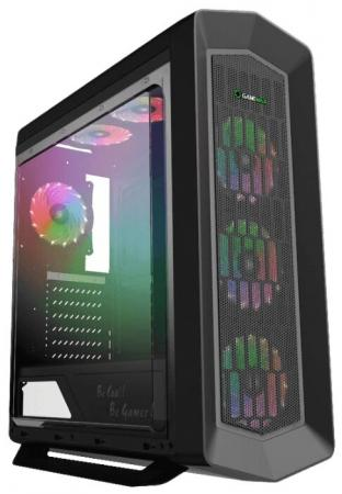 Корпус ATX GameMax G516 Asgard Без БП чёрный корпус atx gamemax starlight b blue без бп синий чёрный