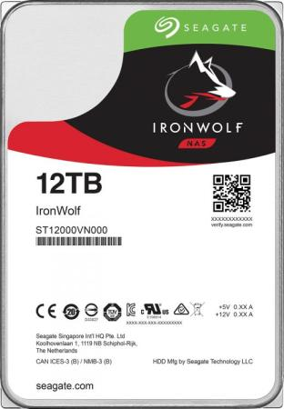 Купить Жесткий диск 3.5 12 Tb 7200rpm 256Mb cache Seagate ST12000VN0008 SATA III 6 Gb/s