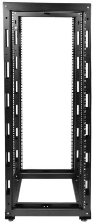 ЦМО! Стойка телеком. универсальная 49U двухрамная,цвет черный (СТК-49.2-9005)