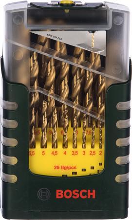Bosch 2607017154 Акц набор сверл HSS-TiN, 25 шт