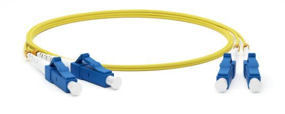 Hyperline FC-D2-9-LC/UR-LC/UR-H-50M-LSZH-YL Патч-корд волоконно-оптический (шнур) SM 9/125 (OS2), LC/UPC-LC/UPC, 2.0 мм, duplex, LSZH, 50 м цена и фото