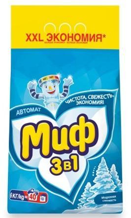 Стиральный порошок МИФ Морозная свежесть 6кг