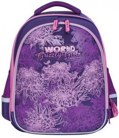 Ранец GRIZZLY формованный, для начальной школы, девочка, Нежность, 28х36х20 см, RA-879-4/1 цена и фото