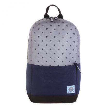 Рюкзак GRIZZLY универсальный, для девушек, Треугольники на сером, 27х43х15 см, RQ-921-5/3 рюкзак grizzly rq 912 1 1 black