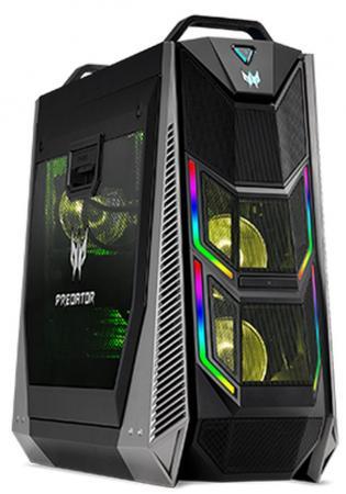 Компьютер Acer Predator Orion 9000 PO9-900 Intel Core i9 9980XE 128 Гб 3Tb + 512Gb SSD nVidia GeForce RTX 2080Ti 11264 Мб Windows 10 Home DG.E0PER.014 компьютер