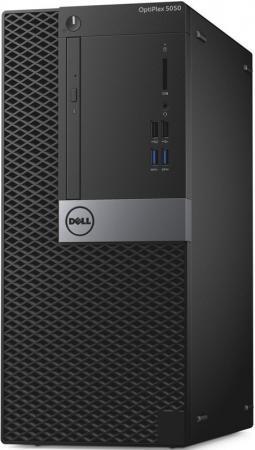 ПК Dell Optiplex 5050 MT i5 6400 (2.7)/4Gb/500Gb 7.2k/HDG530/DVDRW/Windows 10 Professional/GbitEth/240W/клавиатура/мышь/черный/серебристый цена 2017