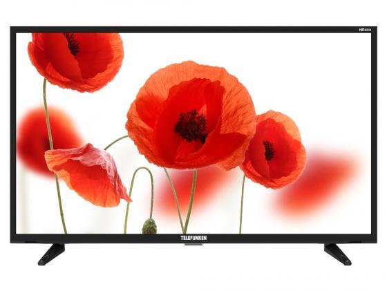 """Телевизор 32"""" Telefunken TF-LED32S23T2 черный 1366x768 50 Гц Для наушников цена и фото"""